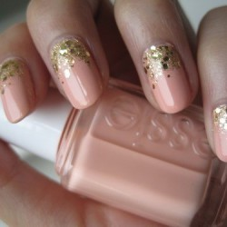 Nails for evening dress photo