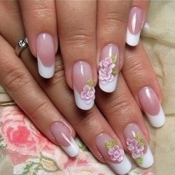 Bride nails photo
