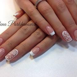 Snow nails photo