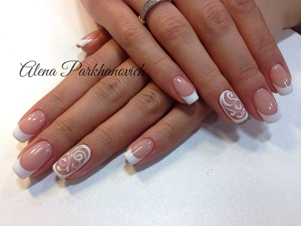 Winter French Nails 2016 The Best Images Page 2 Of 2