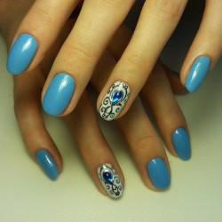 Fashionable nails 2016 photo