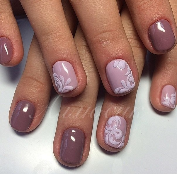 Фото ногтей гель лак на короткие