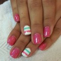Nails with sparkles ideas