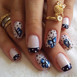 french manicure news 2016 photo