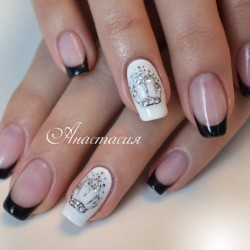 Glamourous nails photo
