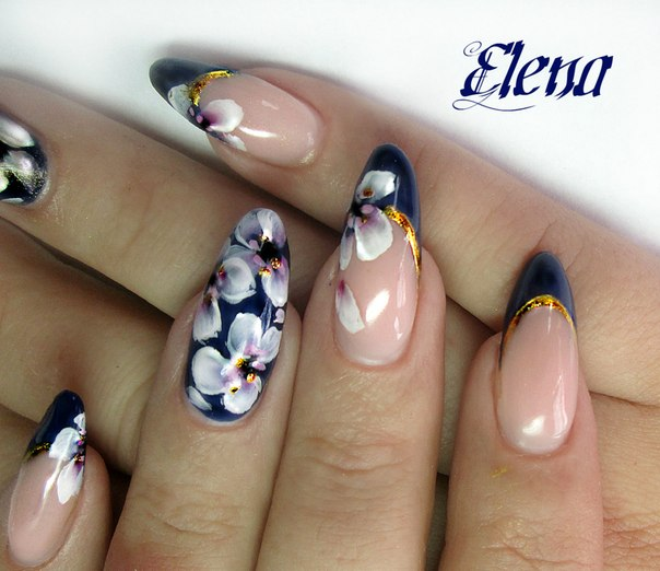 French nails design gallery