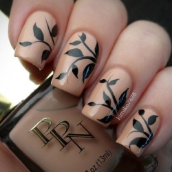 Nail art decoration photo