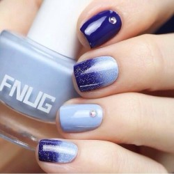 Ombre nails photo