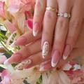 White French nails 2016