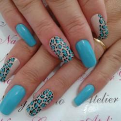 Leopard nail designs photo