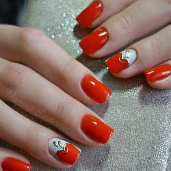 September nails photo
