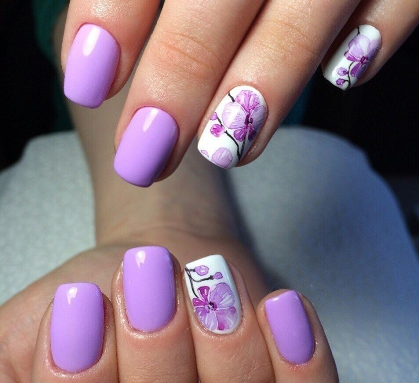 Spring nails - Nail Art #485 - Best Nail Art Designs Gallery BestArtNails.com