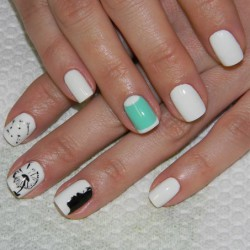 Combined nails photo