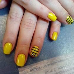Funny nails photo