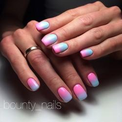 Spring nail art photo