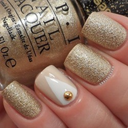 Gold nail ideas photo