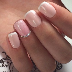 Trendy french manicure 2016 photo