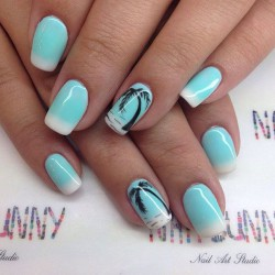 Palm tree nail art the best images bestartnails palm tree nail art photo prinsesfo Image collections