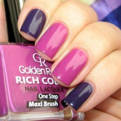 Nailsin violet tones photo