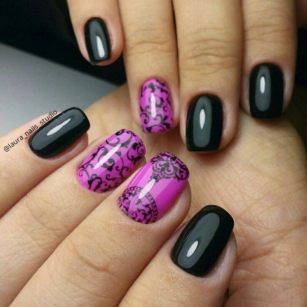 Gothic nails - The Best Images | BestArtNails.com