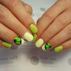 Citrus nails photo