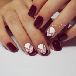 October nails photo