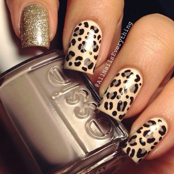 Leopard nails photo - Leopard Nails - Big Gallery Of Designs BestArtNails.com