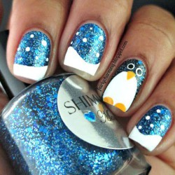 Brilliant polish nails photo