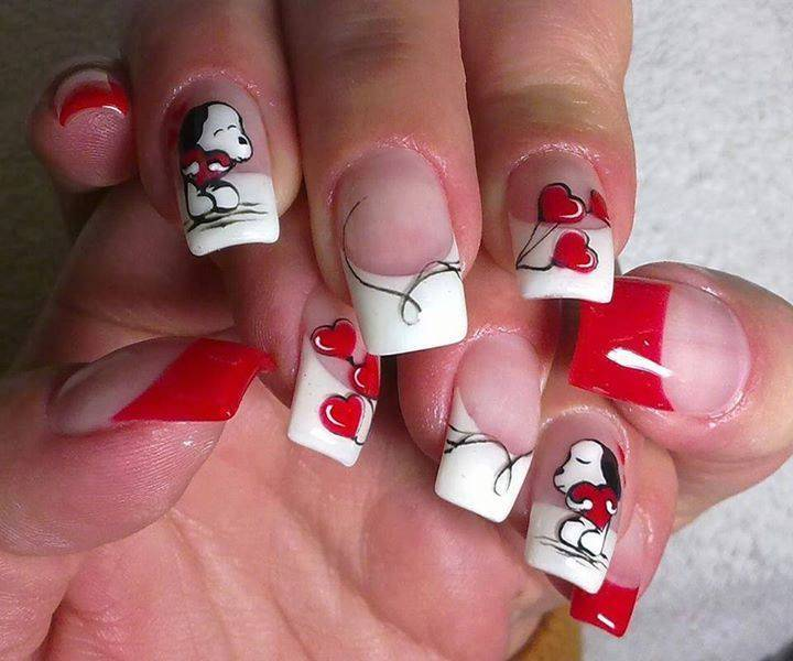 Nail art 791 best nail art designs gallery bestartnails french nails prinsesfo Image collections