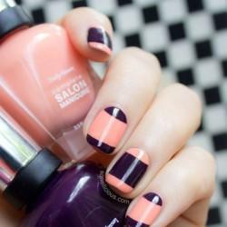 Retro nails photo