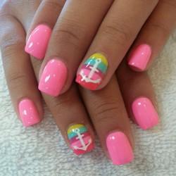 Acid pinknails photo