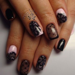 Lace nails photo
