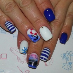 Marine nails the best images page 4 of 5 bestartnails marine nails photo prinsesfo Images