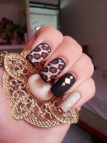 Nail art 866 best nail art designs gallery bestartnails leopard nails prinsesfo Choice Image