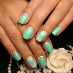 Heart nail designs photo
