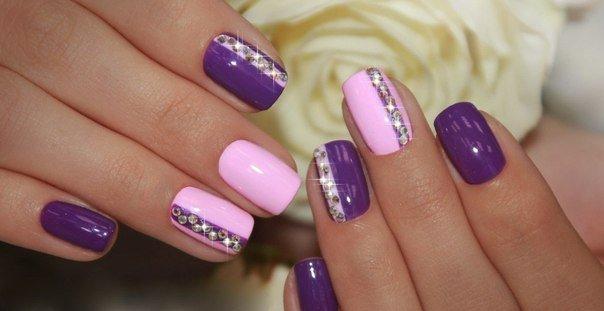 Lavender nails photo - Lavender Nails - The Best Images BestArtNails.com