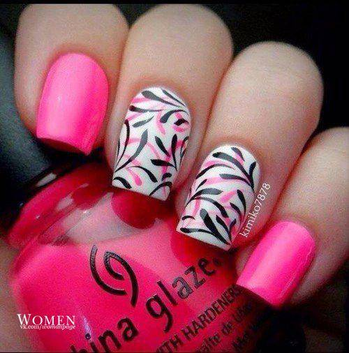 Nail art 957 best nail art designs gallery bestartnails pink nails prinsesfo Gallery