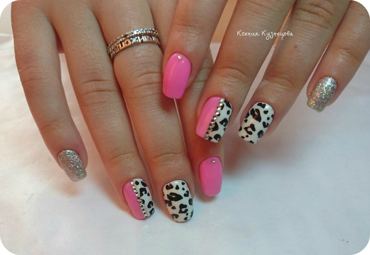 Leopard nails - Big Gallery of Designs | BestArtNails.com