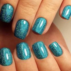 Chameleon nails photo