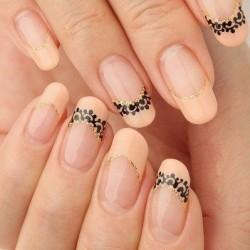 Plain french manicure photo