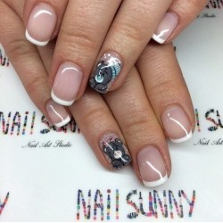 Funny nails photo