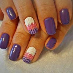 Nacre nails photo