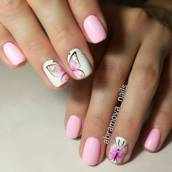 Nail art 1317 best nail art designs gallery bestartnails pink nails prinsesfo Image collections