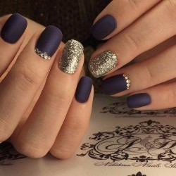 Black dress nails , The Best Images