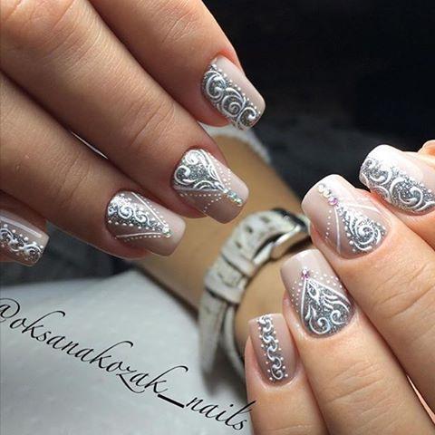 Beige nails - Nail Art #1357 - Best Nail Art Designs Gallery BestArtNails.com