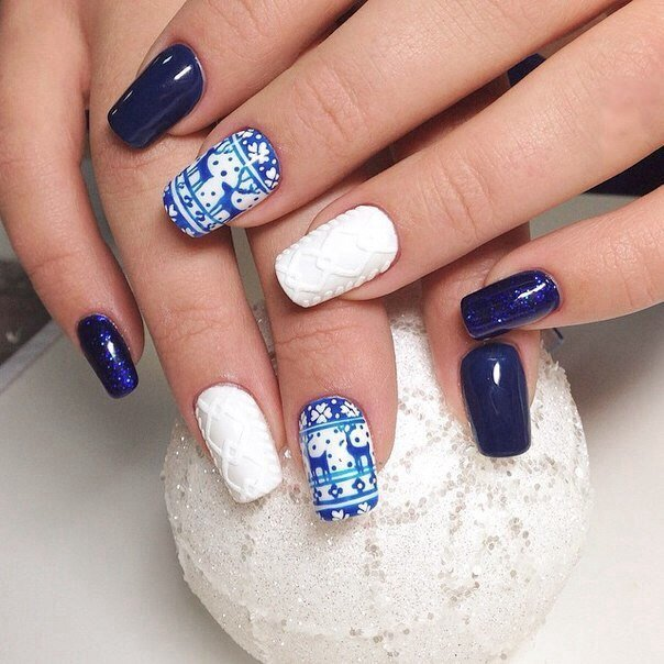 Nail art 1360 best nail art designs gallery bestartnails winter nails prinsesfo Images
