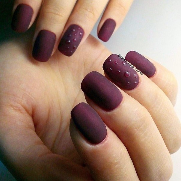 Maroon nails - The Best Images | Page 5 of 6 | BestArtNails.com