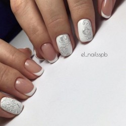 Gentle gel polish for manicure photo