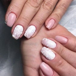 Pink shellac photo