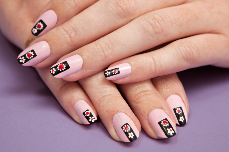 Nail art 1573 best nail art designs gallery bestartnails pink nails prinsesfo Gallery